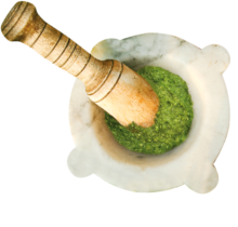 mortaio pesto
